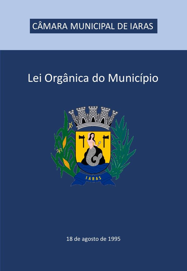 Capa Lei Orgânica