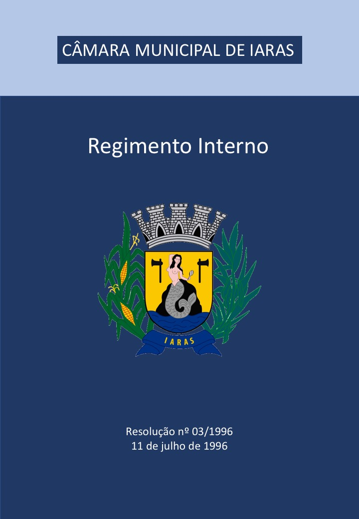 Capa Regimento Interno