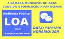 Audiência Pública LOA-2020